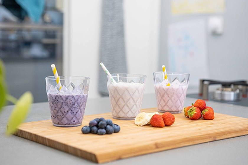 Milkshake Nutrilon aux fruits