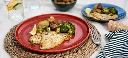 gebakken-scholfilet-met-krieltjes-en-geroosterde-broccoli