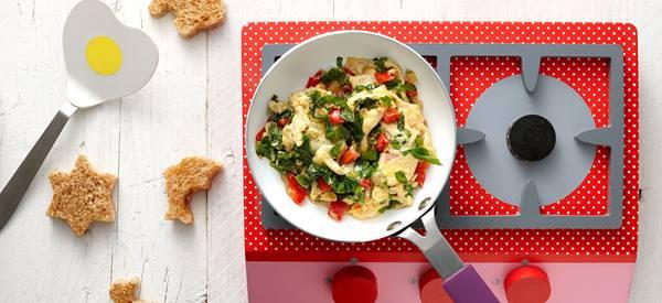 Dierentuin pasta met groente saus
