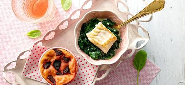 pasta met sperziebonen en zalm