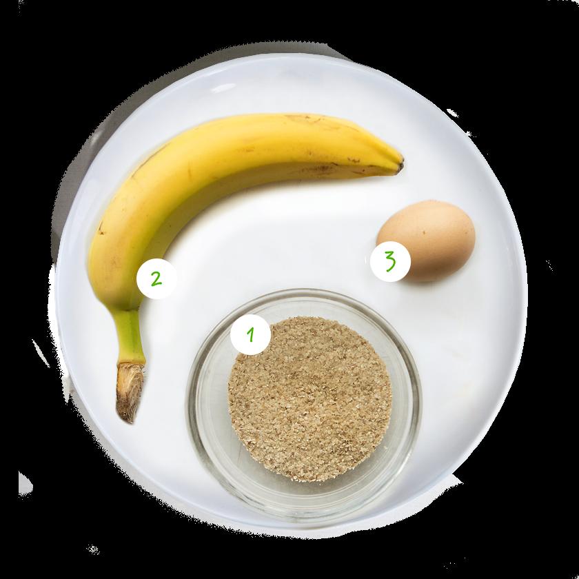 ingrediënten Olvarit recept mugcake