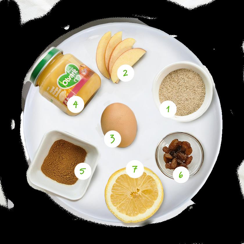 Olvarit biscuits petit-déjeuner ingrédients