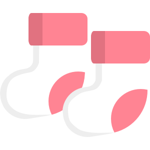 Icon of baby socks