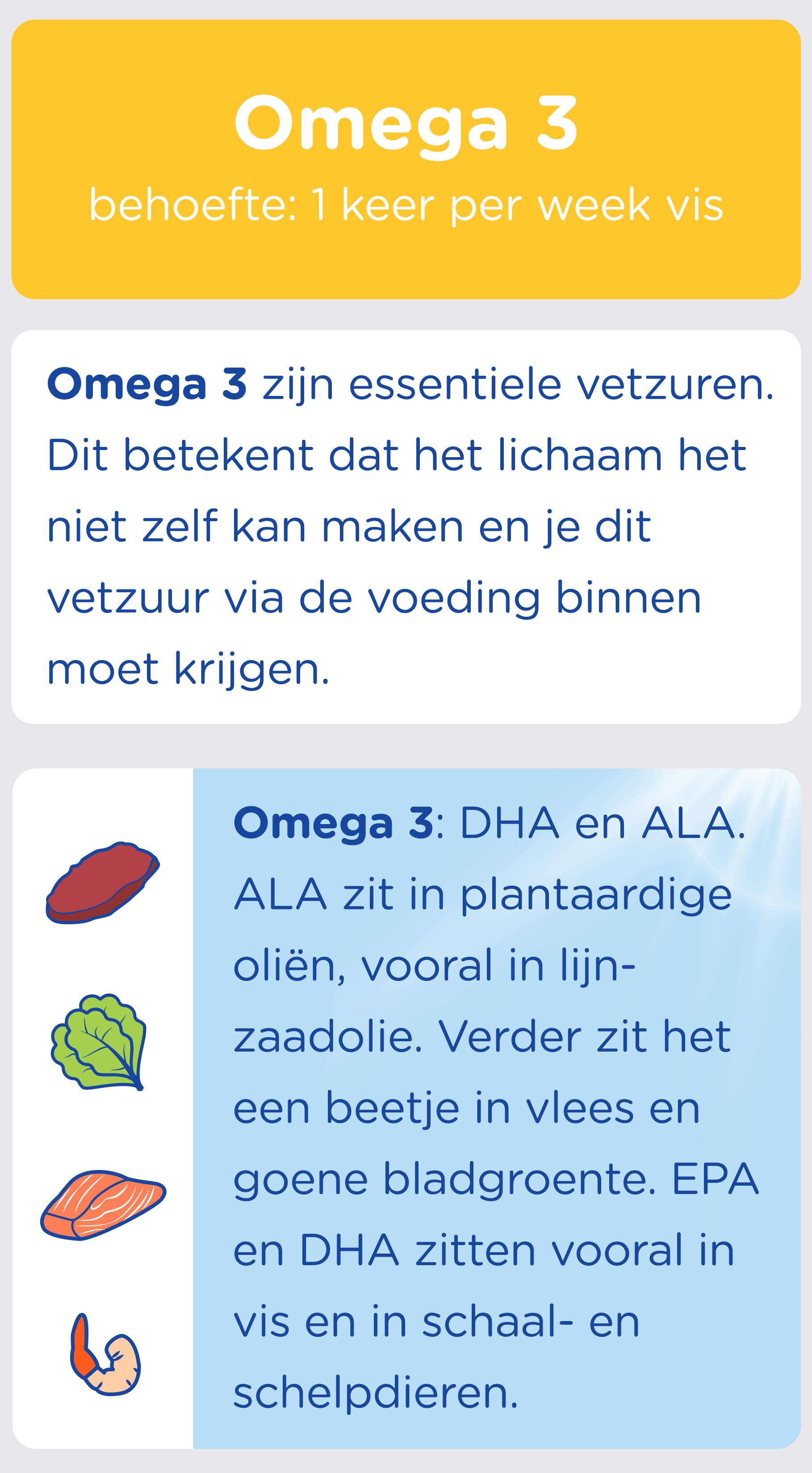 De Omega 3 behoefte van je peuter