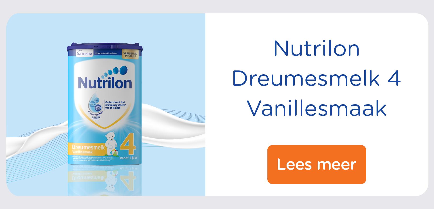 Nutrilon Dreumesmelk 4 Vanille