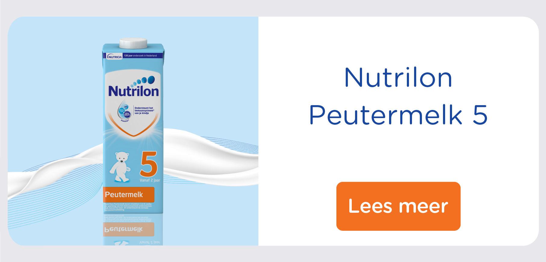 Nutrilon Peutermelk 5 kant en klaar