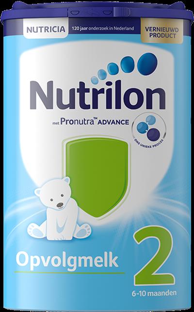 Nutrilon Opvolgmelk altijd online beschikbaar