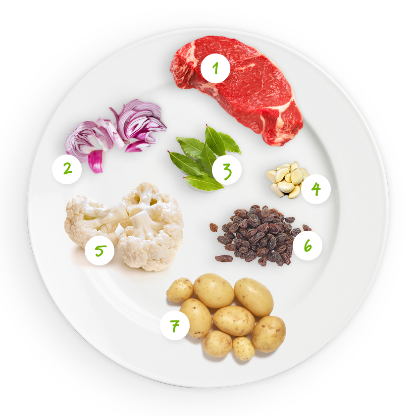 ingrediënten aardappelpaddenstoeltjes
