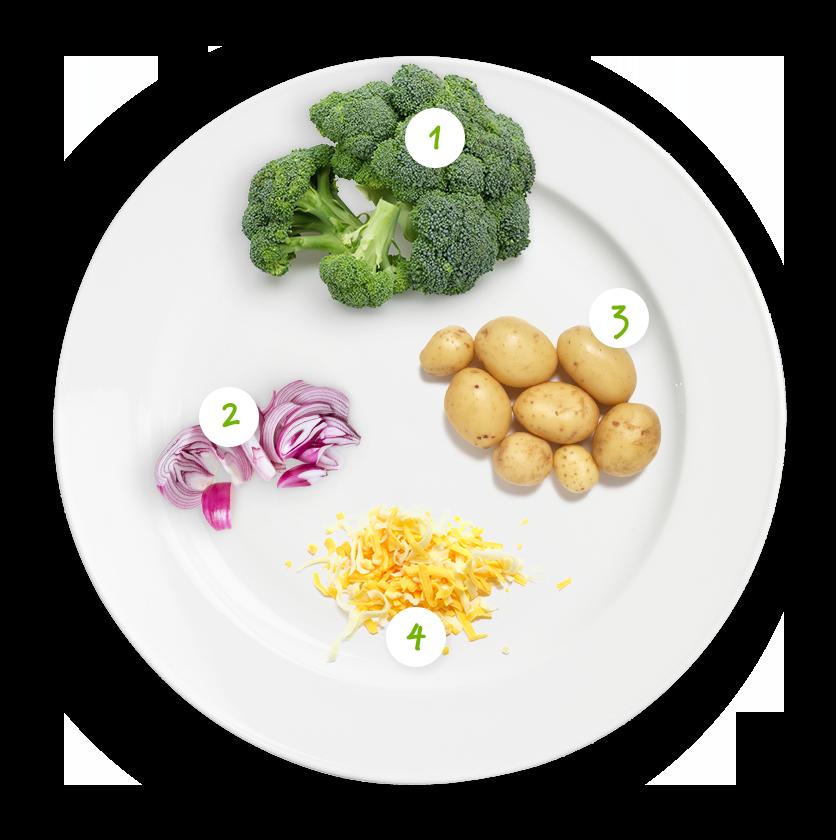 ingrediënten aardappelschotel