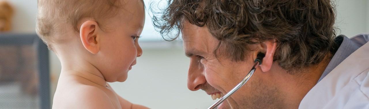 baby en arts interactie